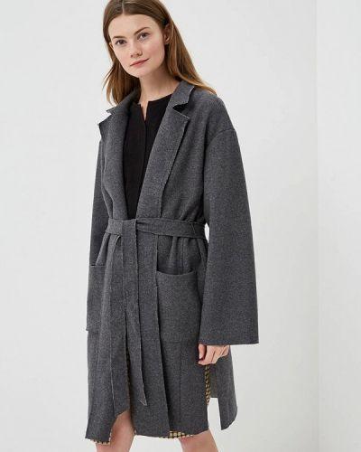Пальто демисезонное серое H:connect