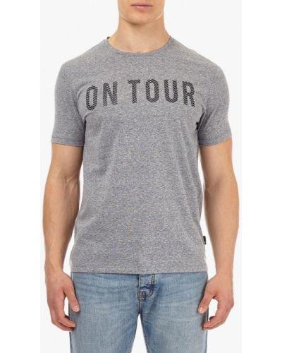 Серая футболка Burton Menswear London