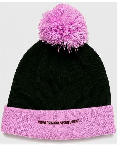 Зимняя шапка с помпоном с отворотом Puma