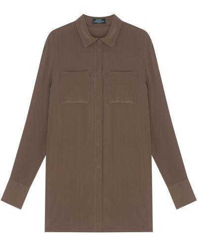 Шелковая блузка - бежевая Alena Akhmadullina
