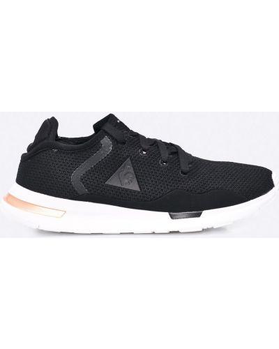 Черные кроссовки Le Coq Sportif