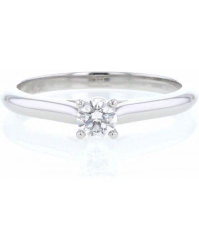 Кольцо с бриллиантом Cartier