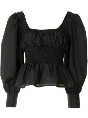 Czarna bluzka bawełniana Ciao Lucia