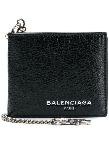Кожаный черный кошелек Balenciaga