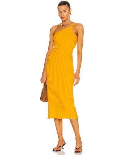 Pomarańczowa sukienka Simon Miller