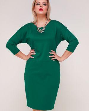 Деловое платье платье-сарафан с карманами Ellcora