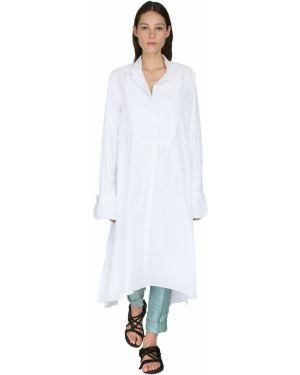 Платье макси платье-рубашка на кнопках Ann Demeulemeester