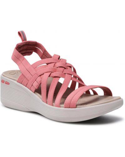 Sandały - różowe Skechers