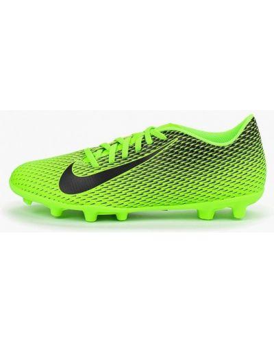 Бутсы кожаный искусственный Nike