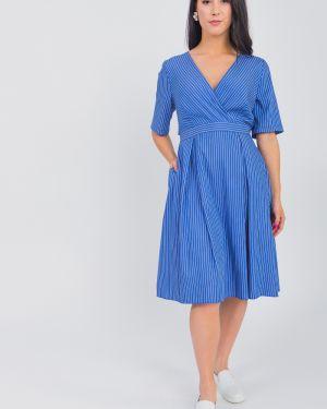 Платье с поясом с запахом со складками Lacywear