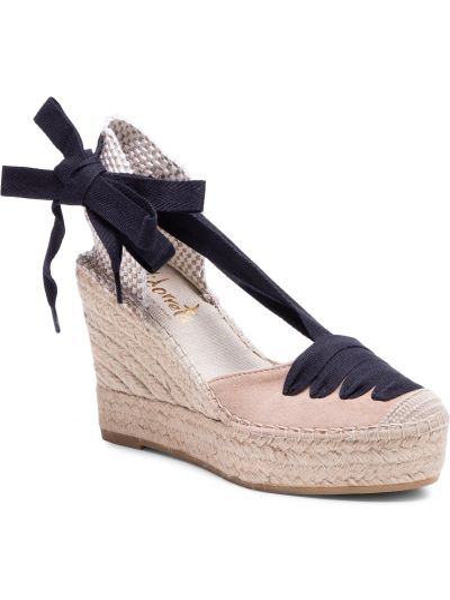 Beżowe sandały zamszowe Vidorreta