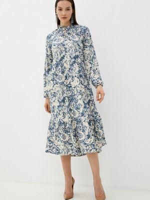 Прямое платье - синее Rich&royal