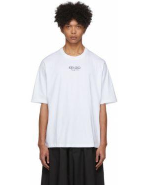 Koszula krótkie z krótkim rękawem z kołnierzem z haftem Kenzo