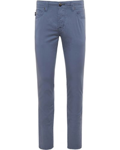 Niebieskie spodnie Tramarossa