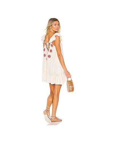 Платье мини с вышивкой Sundress