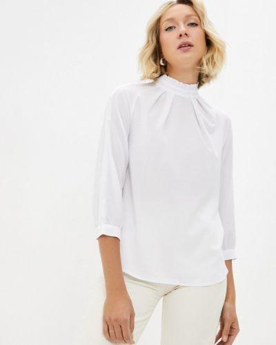 Блузка с рюшами - белая Aelite