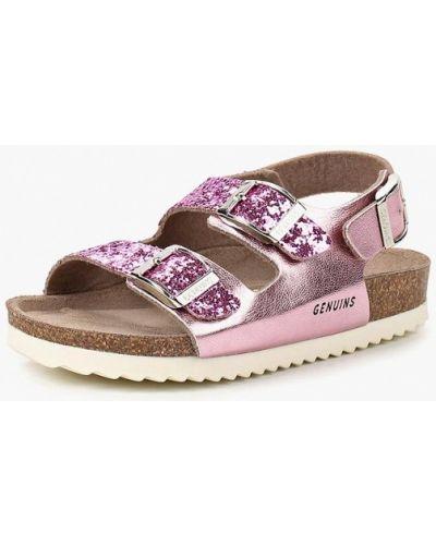 Розовые сандалии Genuins