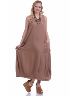 Летнее платье макси в стиле бохо Lautus