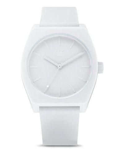 Biały zegarek Adidas
