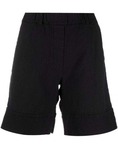 Хлопковые шорты с карманами с накладными карманами на шпильке Kristensen Du Nord