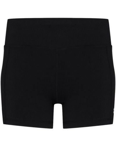 Czarne szorty z wysokim stanem Sweaty Betty