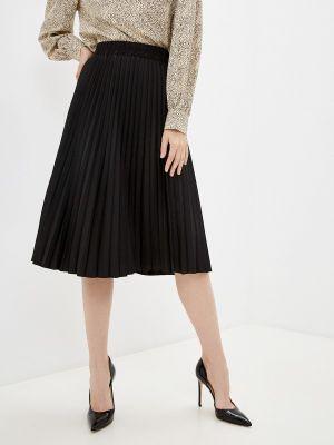 Черная зимняя юбка Goldrai