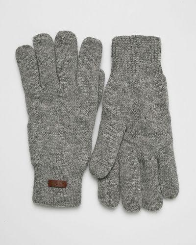 Перчатки трикотажные шерстяные Barts