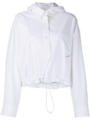 Рубашка с длинным рукавом белая с карманами Alexander Wang