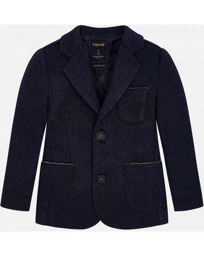 Пиджак на пуговицах с карманами Mayoral