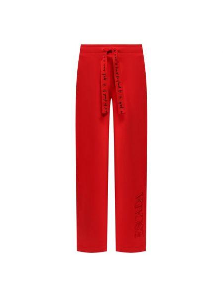 Спортивные брюки с надписью прямые Escada Sport