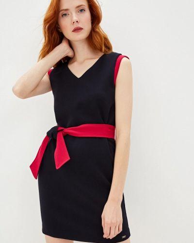 Повседневное платье осеннее синее Armani Exchange