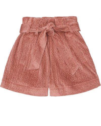 Bawełna bawełna różowy szorty Brunello Cucinelli Kids