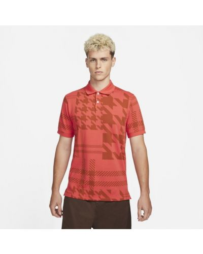 T-shirt dzianinowa - czerwona Nike