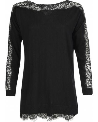 Блузка из вискозы черная Twin-set