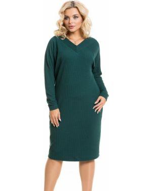 Повседневное платье с V-образным вырезом платье-сарафан Novita