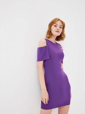 Платье осеннее фиолетовый You&you