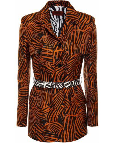 Пиджак с поясом из вискозы Missoni