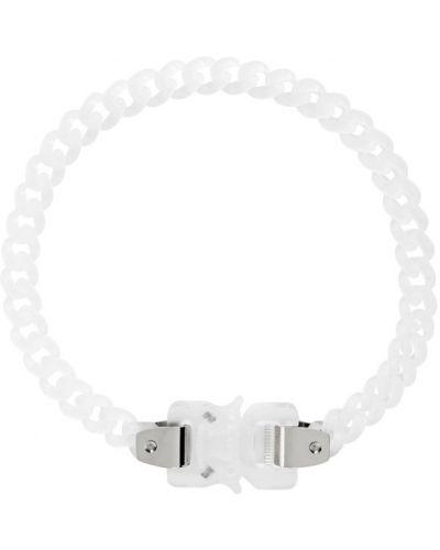 Серебряное ожерелье для полных прозрачное с пряжкой 1017 Alyx 9sm