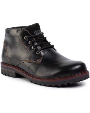 Buty czarne oliwa S.oliver