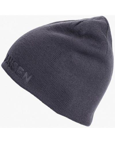 Синяя шапка осенняя Helly Hansen