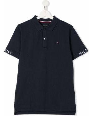 Асимметричная классическая рубашка на пуговицах Tommy Hilfiger Junior