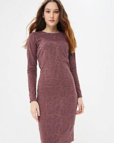 Платье осеннее фиолетовый Gorchica
