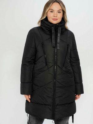 Черная утепленная куртка Samoon By Gerry Weber