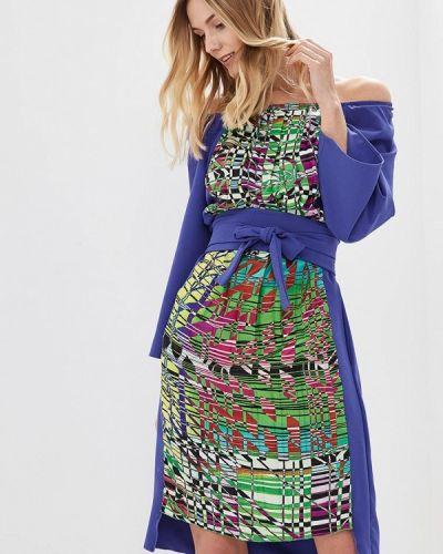 Платье весеннее фиолетовый Love & Light