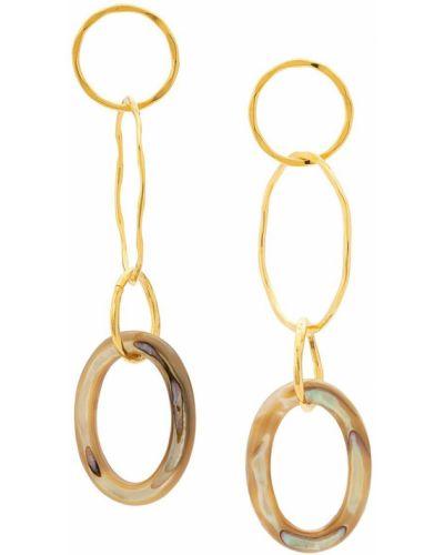 Серьги-гвоздики Lizzie Fortunato Jewels