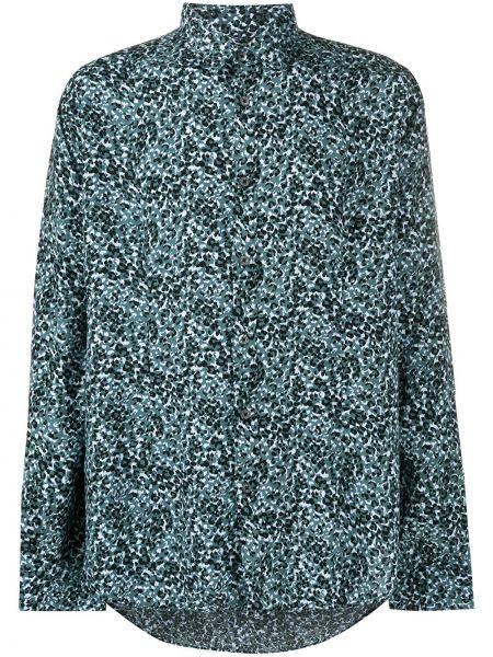 Koszula z długim rękawem klasyczna niebieski Daniele Alessandrini