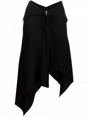 Spódnica asymetryczna - czarna Givenchy