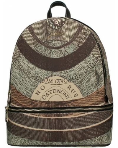Brązowy plecak Gattinoni