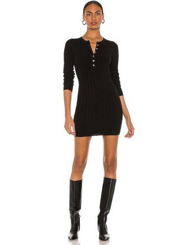 Повседневное черное платье макси с длинными рукавами Marissa Webb