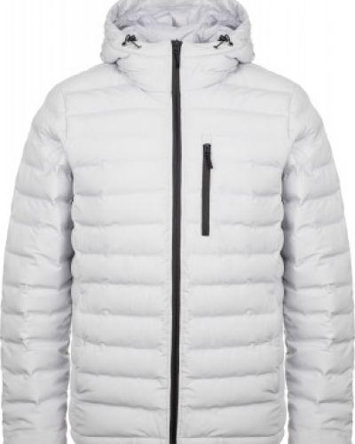 Утепленная серая короткая куртка на молнии Icepeak